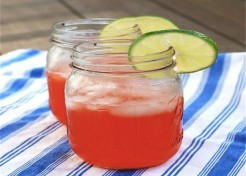 Strawberry Vodka Lime Coolers For Summer