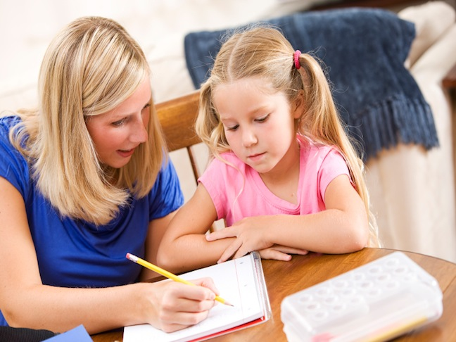 Get Your Child Organized for Getting Homework Done