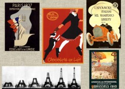 Vintage Posters with an International Flair