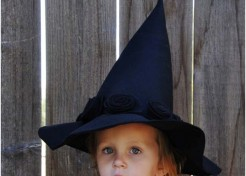 [FREE PATTERN] DIY Elphaba Witch Hat