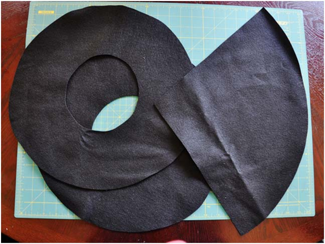 Witch Hat DIY Costume - Step 3