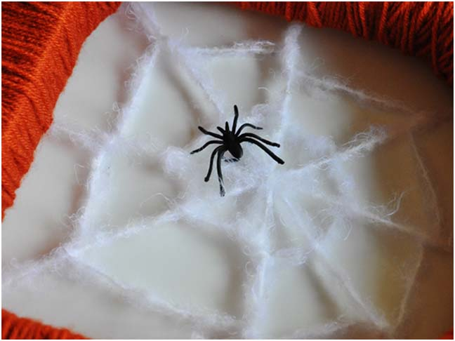 Spooky Monogram DIY Craft - Step 9