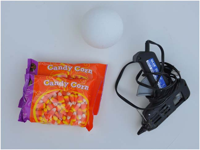 DIY Candy Cornballs Craft Supplies