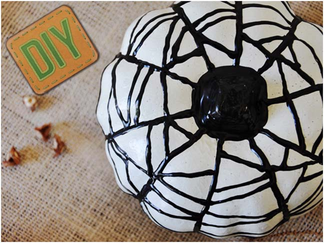 DIY: Puffy Paint Pumpkins