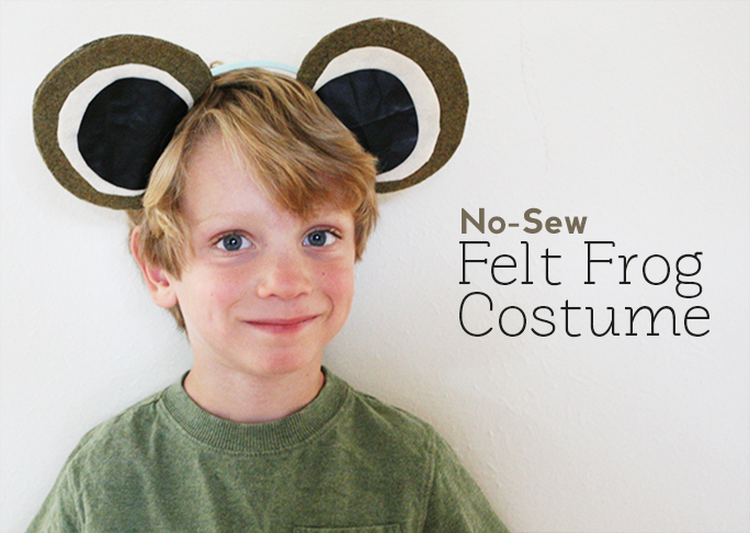 With Halloween around the corner all parents are on the lookout for cute Halloween costumes but making handmade costumes can be tough.  sc 1 st  Momtastic & DIY No-Sew Costume: Frog Costume