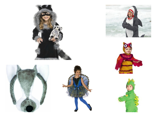 Animal Costumes for Halloween