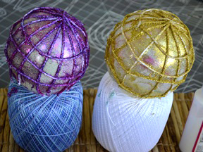 Sparkly Spider Web Treat Cups DIY Craft - Step 9