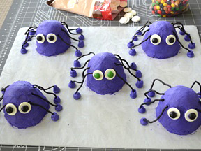 Spider Mni Cakes Recipe - Step 14
