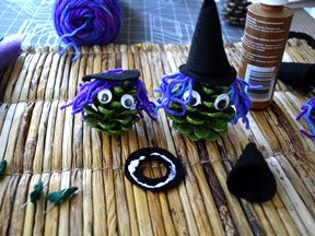 Pinecone Witch Diy Craft