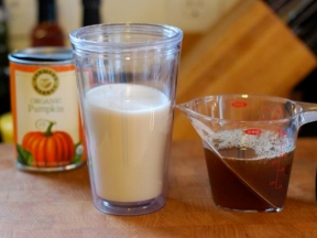 Pumpkin-Spiced Latte Recipe - Ingredients