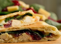 Thanksgiving Leftovers Quesadilla Recipe