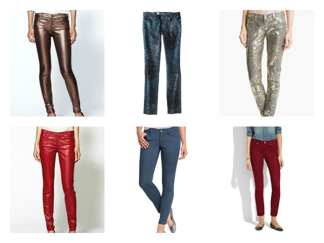 Jean and Denim Trends for Women