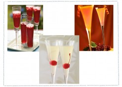 Sparkling Champagne Holiday Cocktails