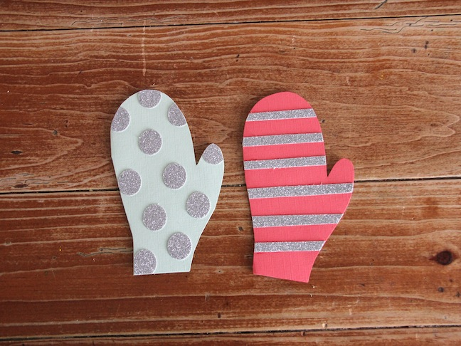 Mitten Cards DIY Craft