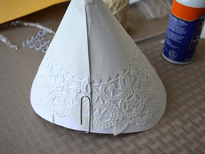 Angel Christmas Tree Topper Craft - Step 4