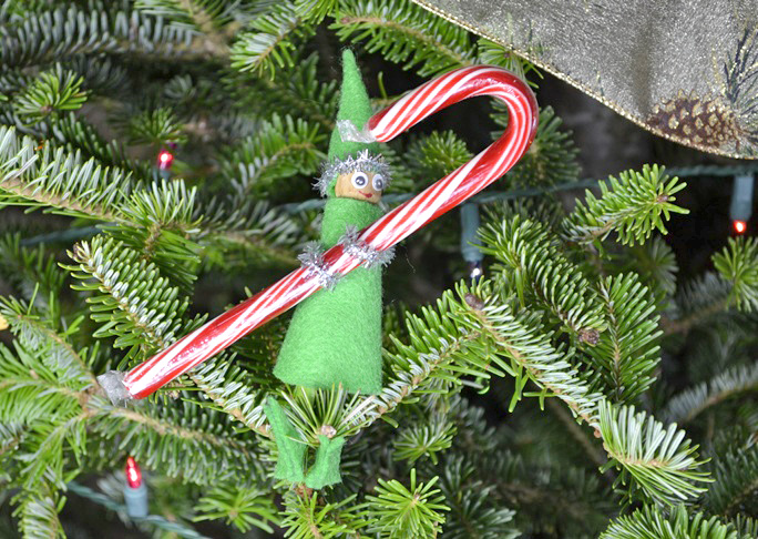 Elf Homemade Ornament Christmas Craft