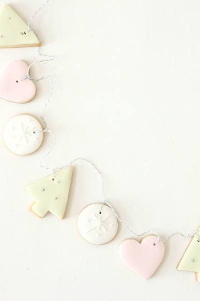 Christmas Cookies - Cookie Garland