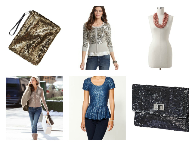 Sequined Fashion Finds for NYE