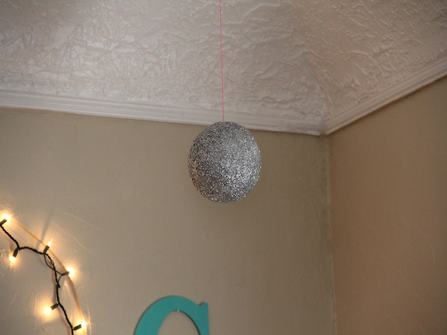 NYE Glitter Ball Craft