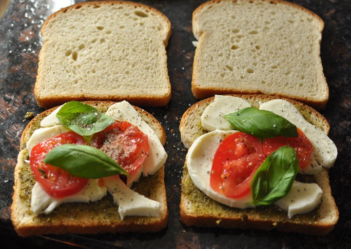 Mini Caprese Sandwiches - Step 2