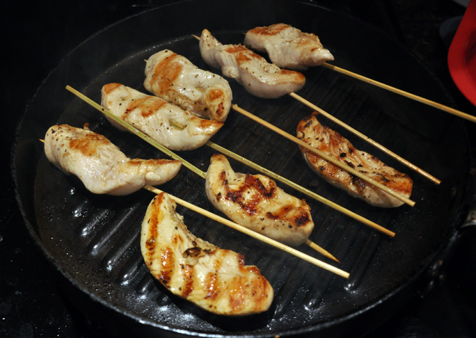 Chicken Skewers Appetizer - Step 3