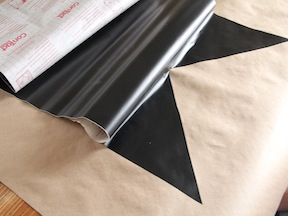 Chalkboard Table Runner DIY - Step 4
