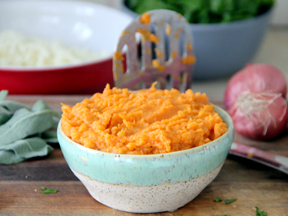 Sweet Potato Mac 'n Cheese - Step 4