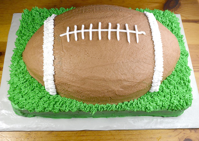 Super Bowl Cake Recipe