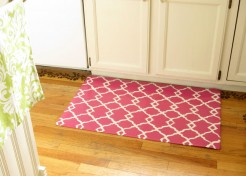 DIY: How To Make A Quatrefoil Design Area Rug