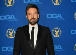 Ben Affleck Carries A Special Message From His Daughters With Him To Directors Guild Awards