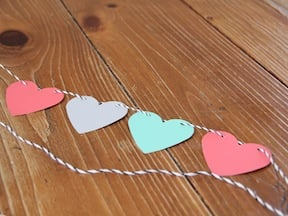 Valentine's Day Garland - Step 3