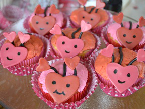 Heart Bug Cupcakes Recipe - Step 17