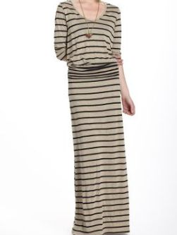 Stripewise Chemise Spring Dress