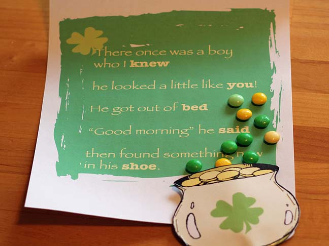 ST PATRICKS DAY PROJECT