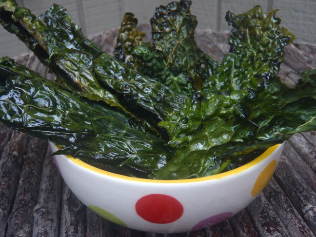Roasted Kale Chips1