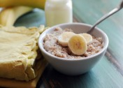 Overnight Banana Cinnamon Crock Pot Oatmeal