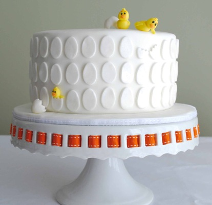 Baby Chick Easter Cake