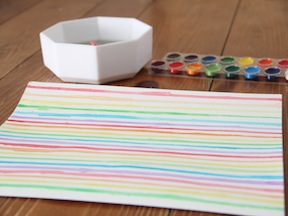 Rainbow Placemat DIY - Step 2
