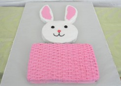 Easter Bunny in a Basket Cake Recipe