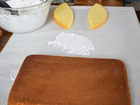 Easter Bunny Cake Recipe - Step 10