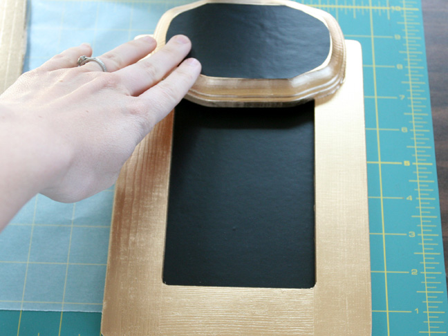 DIY Mother's Day Gift: Chalkboard Menu Board