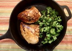 Honey Paprika Chicken and Broccoli