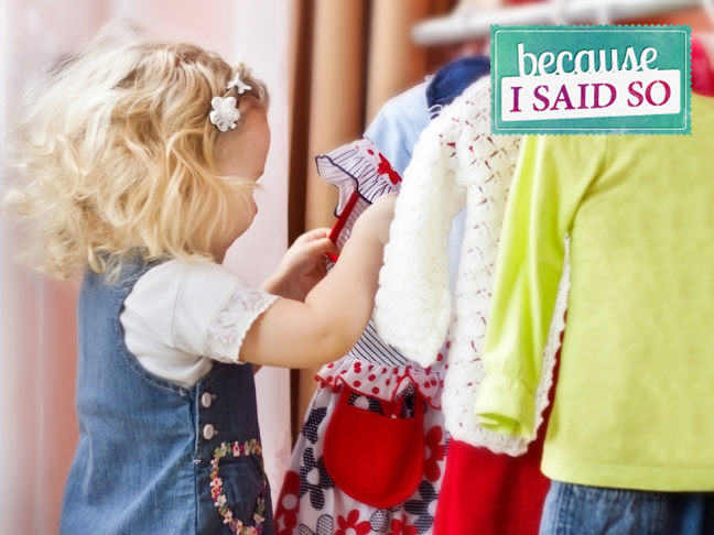 Parenting Blog - Dress Shopping