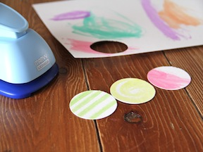 Paper Flowers DIY - Step 2
