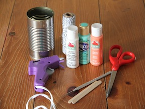 Bird Feeder Spring Craft - Materials