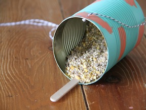 Bird Feeder Spring Craft - Step 6