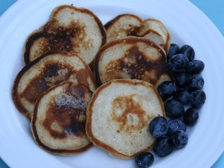 Pear Cinnamon Pancakes Recipe