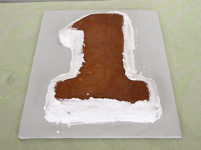 Race Car Birthday Cake Recipe - Step 7