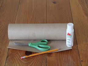 Flower Wrapping Paper DIY - Materials