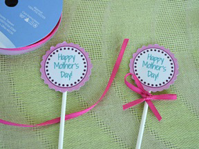 Mother's Day Cupcake Toppers - Step 6